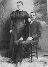 Wedding Picture William Holst and Ellen Brown